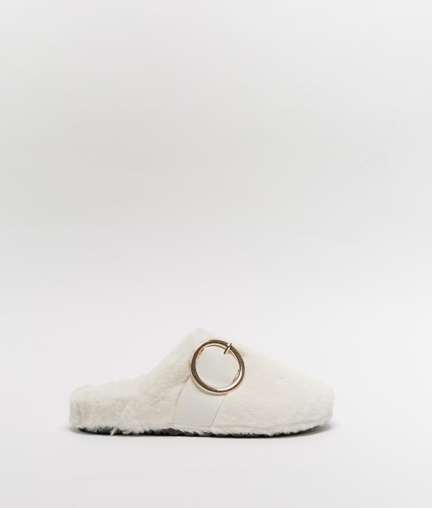LALI SLIPPERS - WHITE