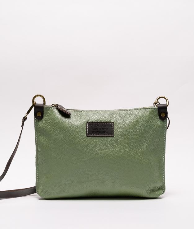 Bolsa de couro Ivana - verde