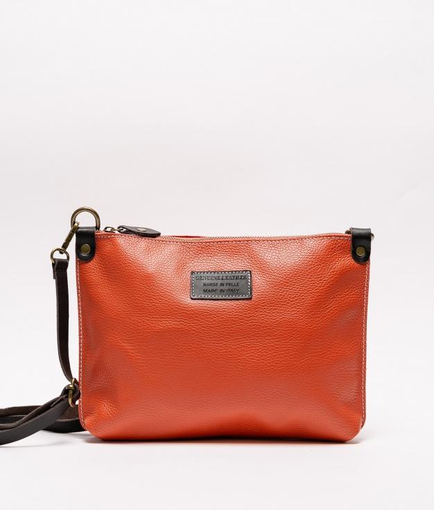 Bolsa de couro Ivana - laranha