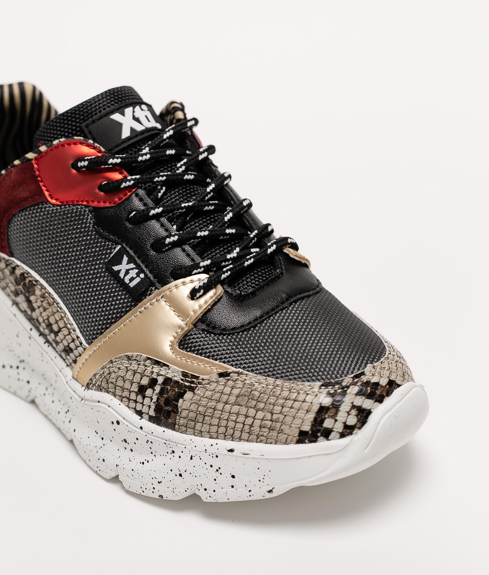 Sneakers Mosa Xti - Tortora