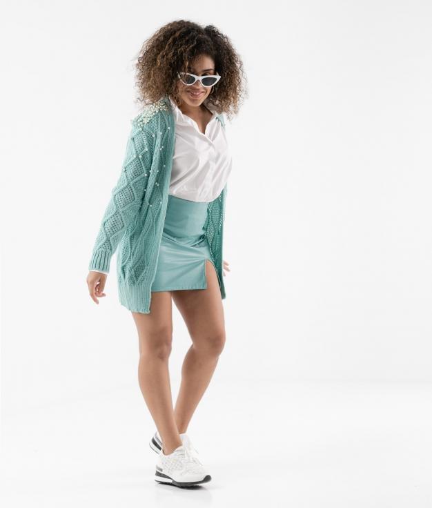 Skirt Gulara - Blue