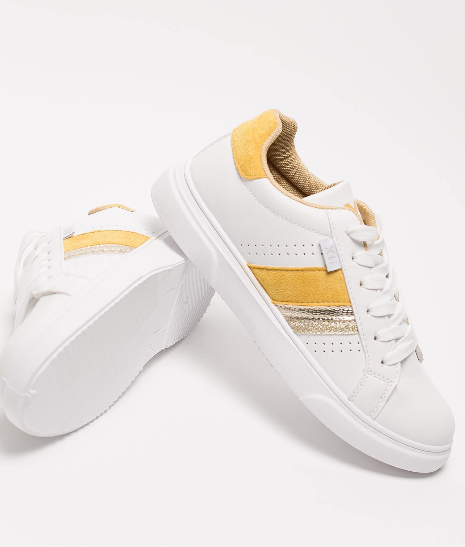 Sneakers Neus Xti - Amarelo