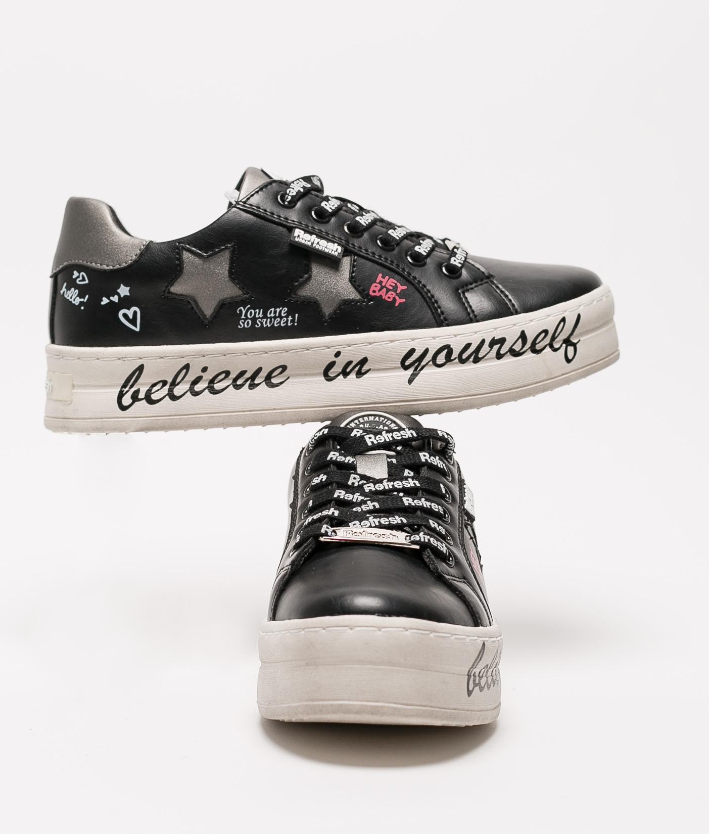 Sneakers Belif - Negro