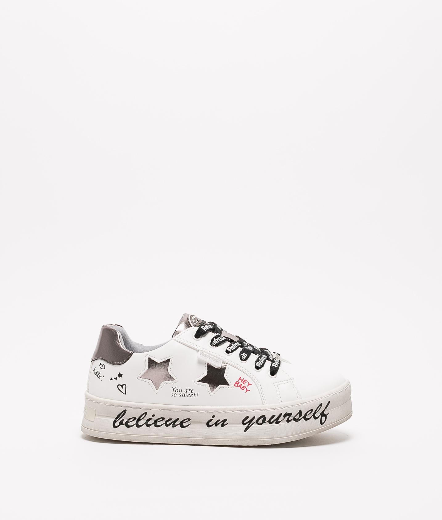 Sneakers Belif Refresh - Bianco