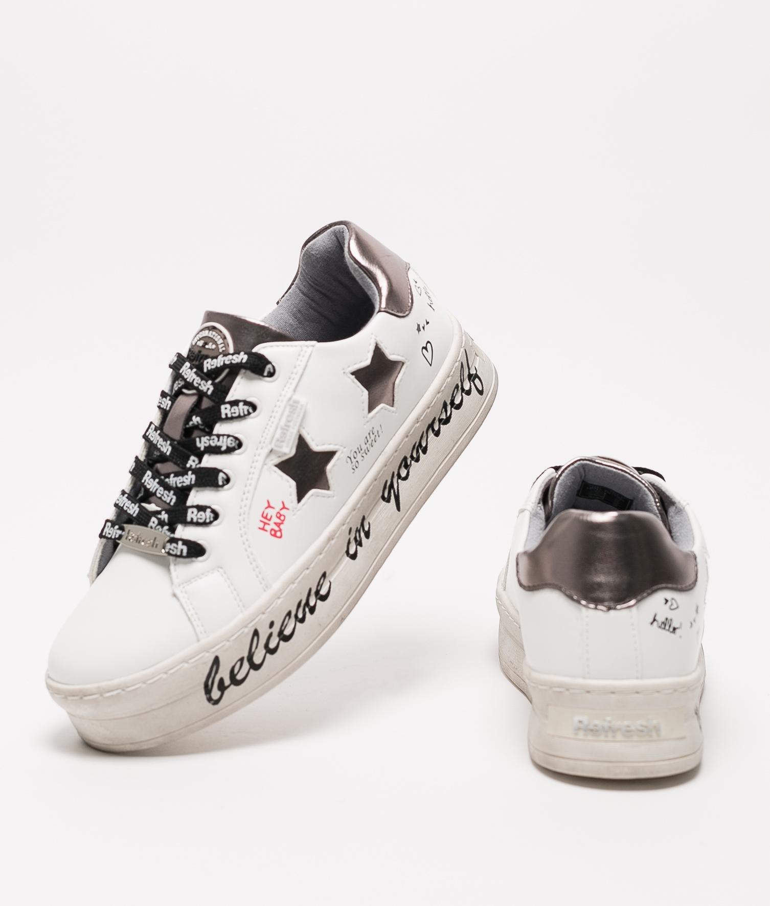 Sneakers Belif Refresh - Blanco