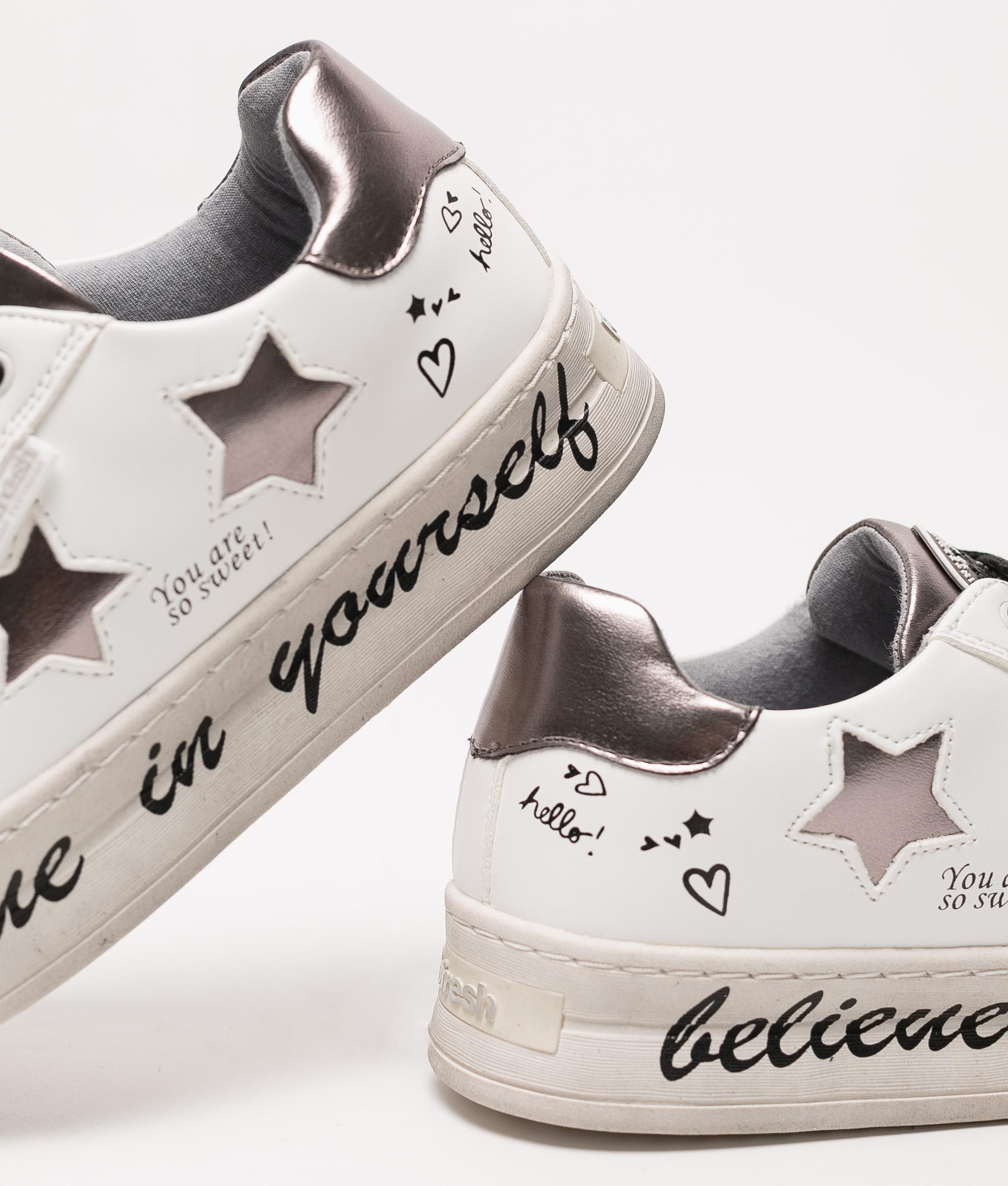 Sneakers Belif Refresh - Blanc