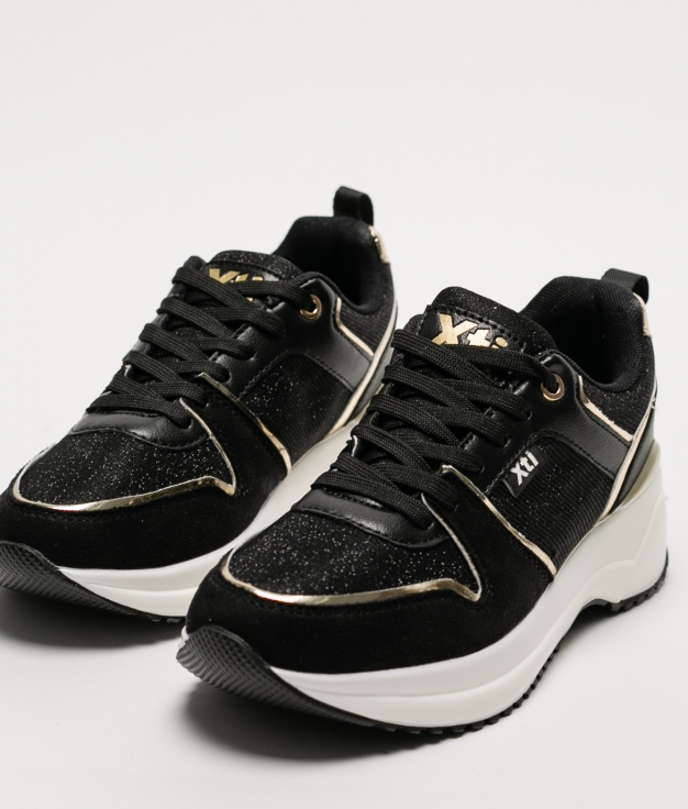 Sneakers Cluba Xti - Preto