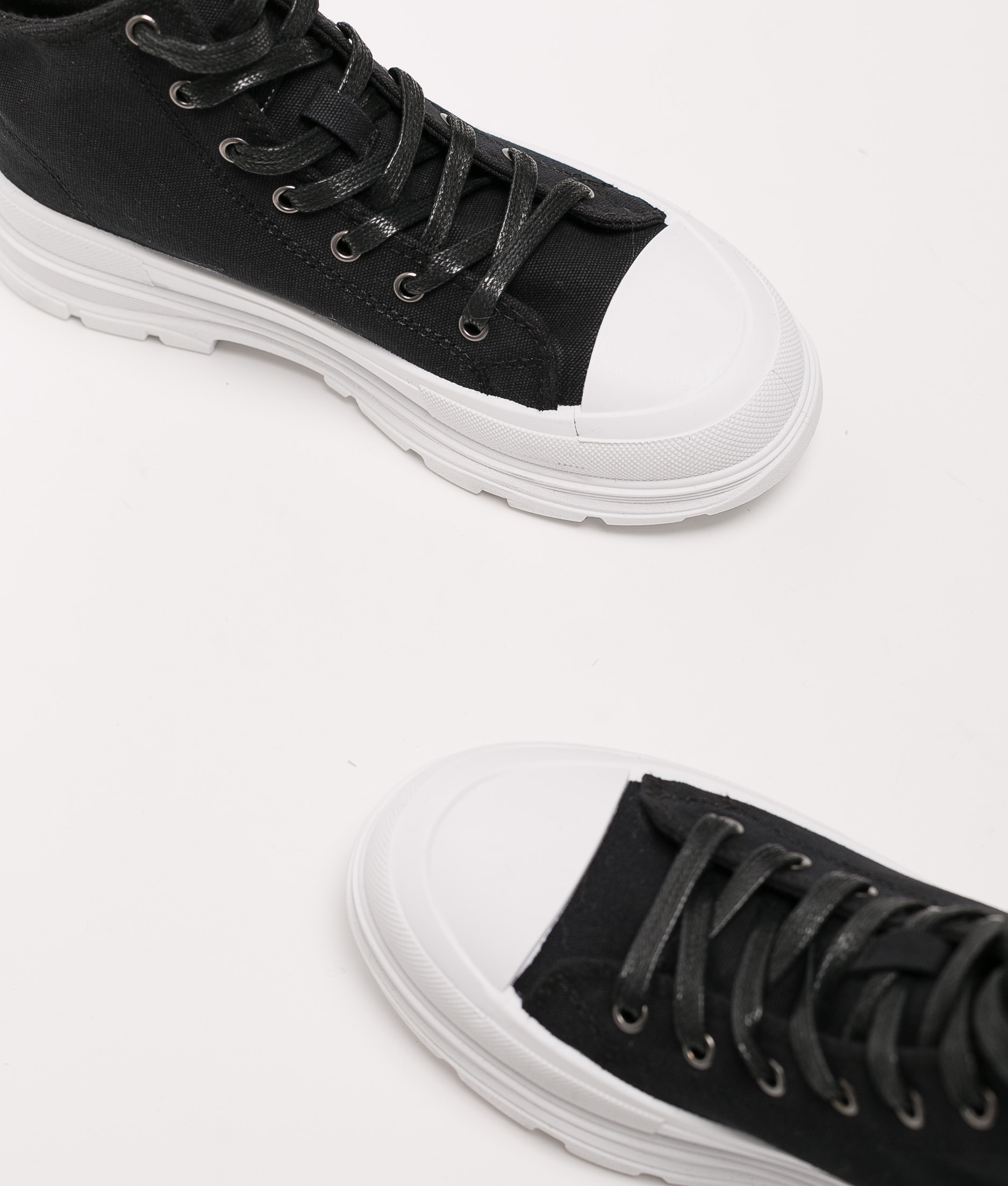 Sneakers Lenui - Blanco/Negro