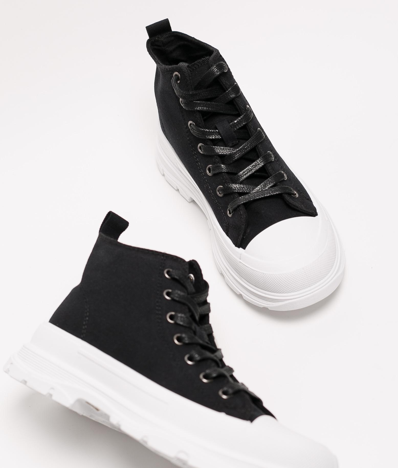 Sneakers Lenui - Bianco/Nero
