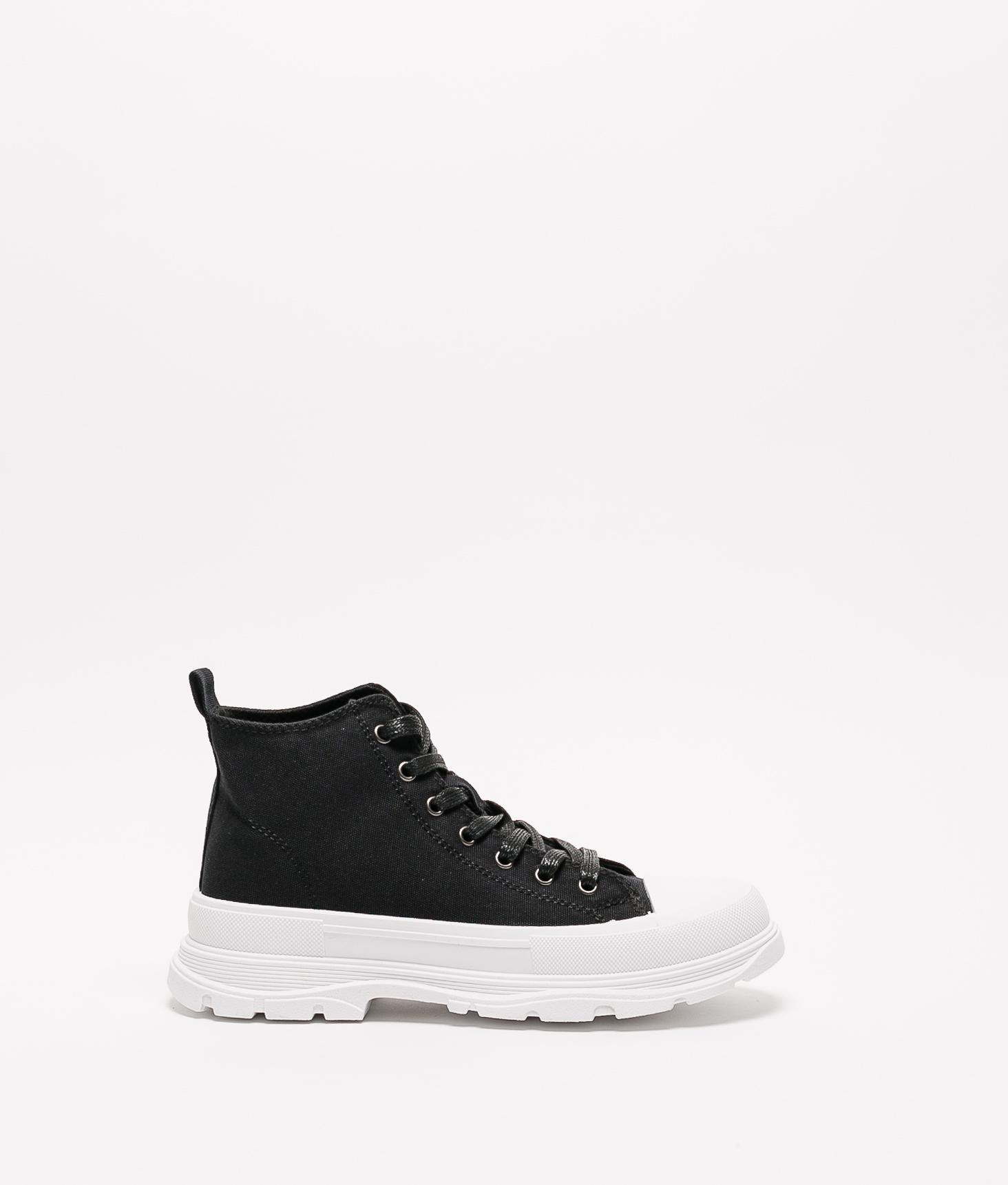 Sneakers Lenui - Blanc/Noir