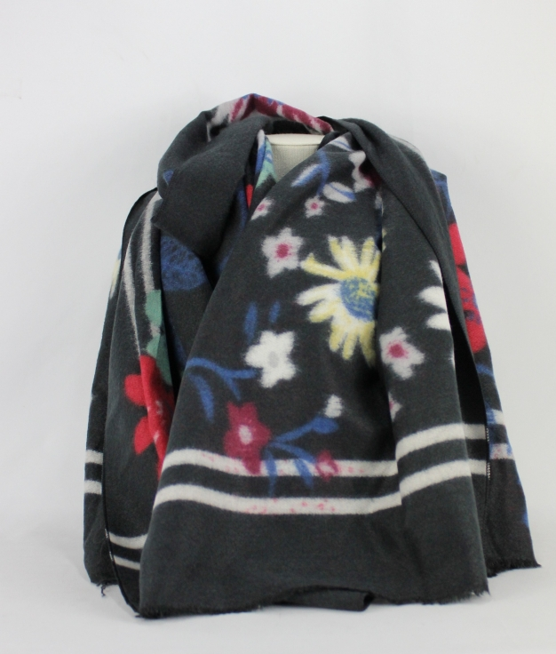 SCARF COVER - BLACK