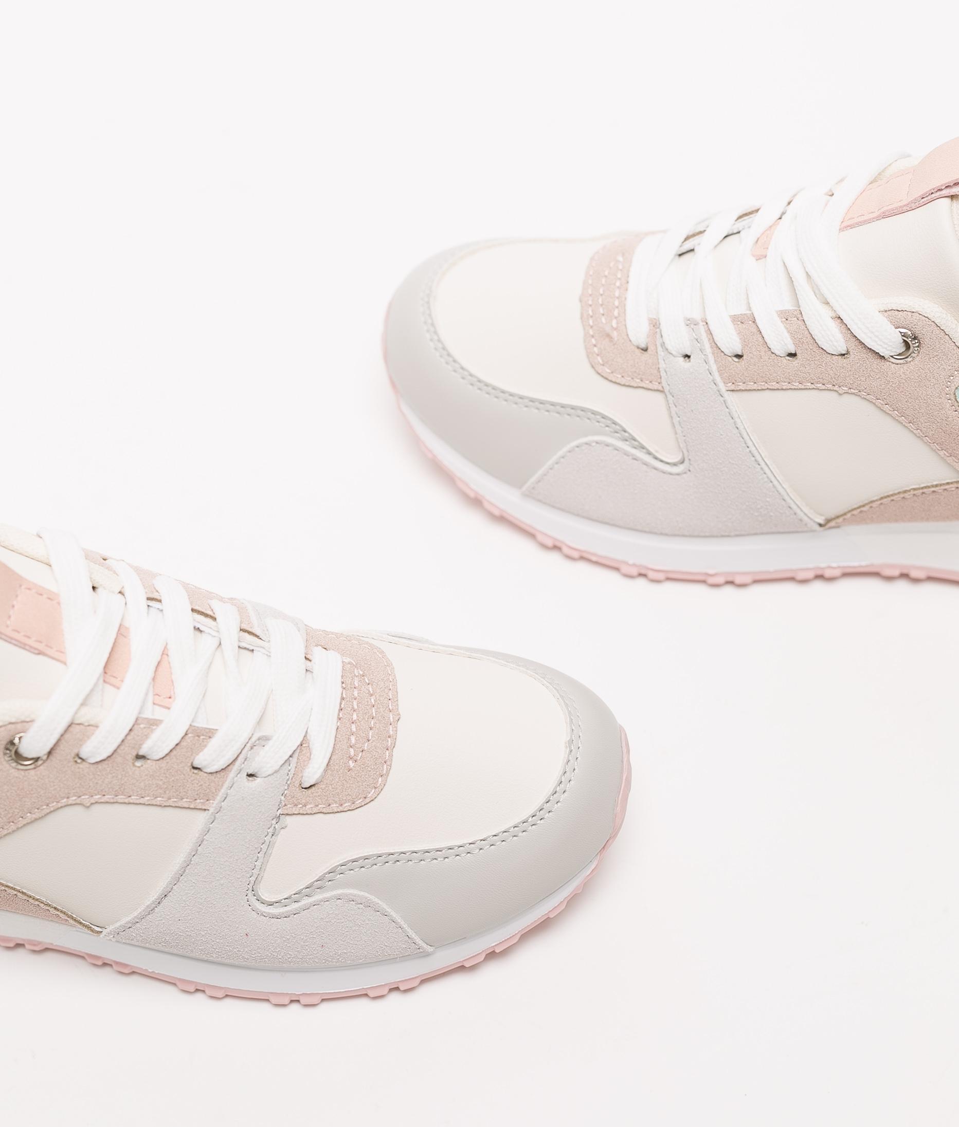 Sneakers Bekare - Grey/Red