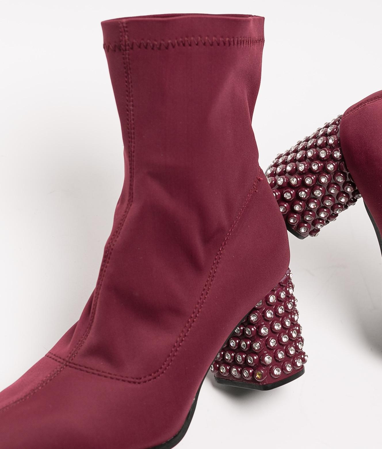 Blex Low Boot - Garnet