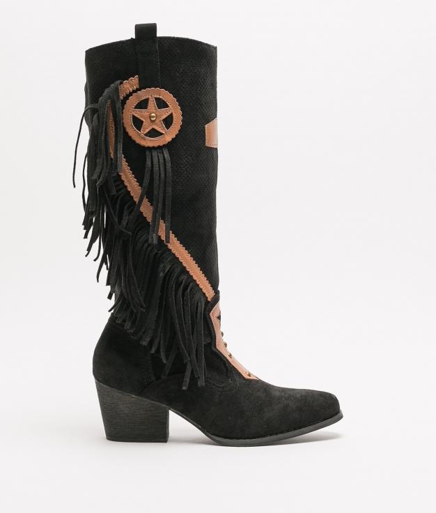 Knee-Length Boot Ferti - Black