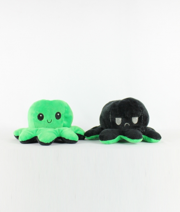 REVERSIBLE OCTOPUS - GREEN/BLACK