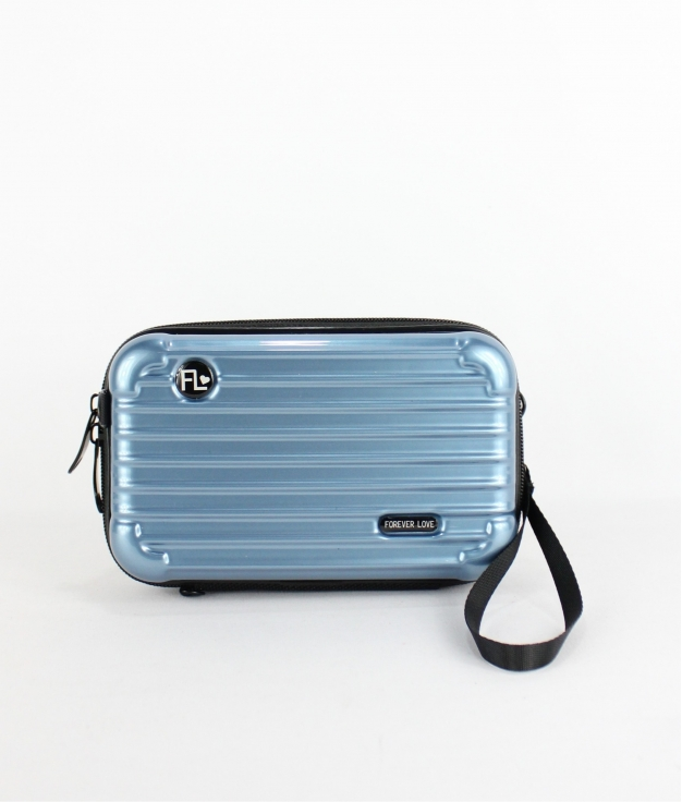 Bandoulière Support Mobile Forever - Bleu Claire