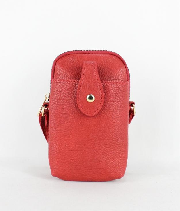 Bandolera Porta Móvil Gala - Rojo