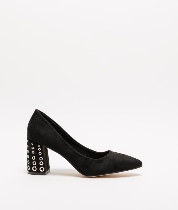 Zapato de Tacón Tachi - Negro