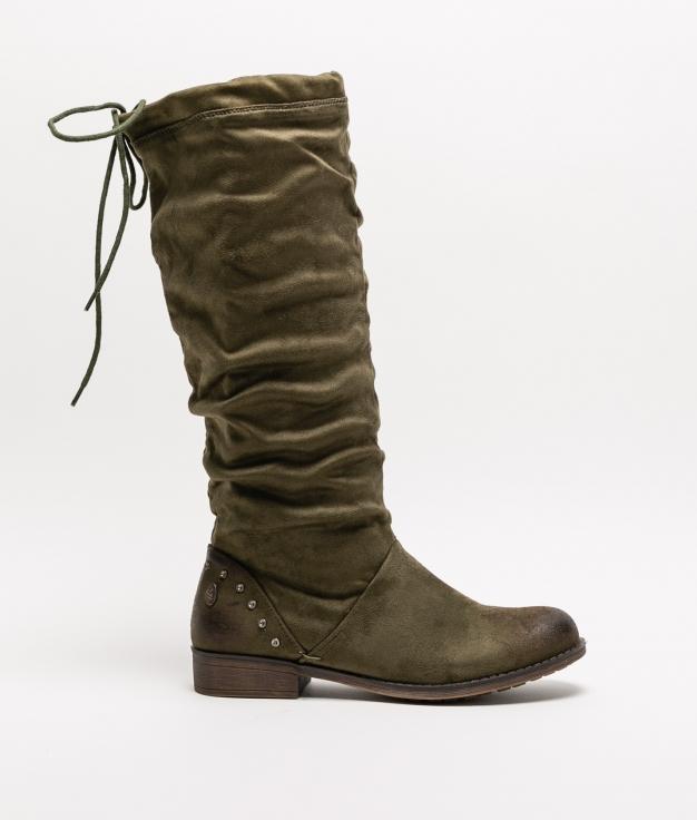 Knee-Length Boot BOWEM - Khaki