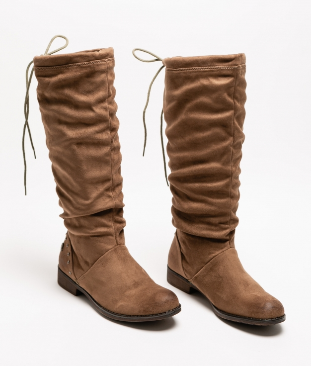 Knee-Length Boot BOWEM - Taupe
