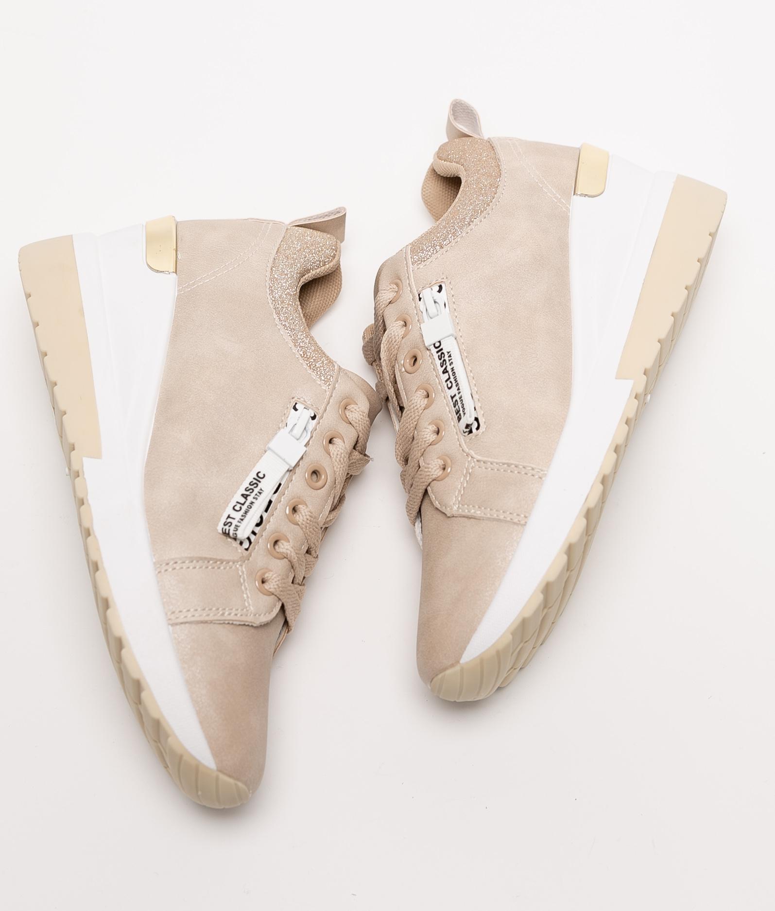 Sneakers SALTY - BEIGE