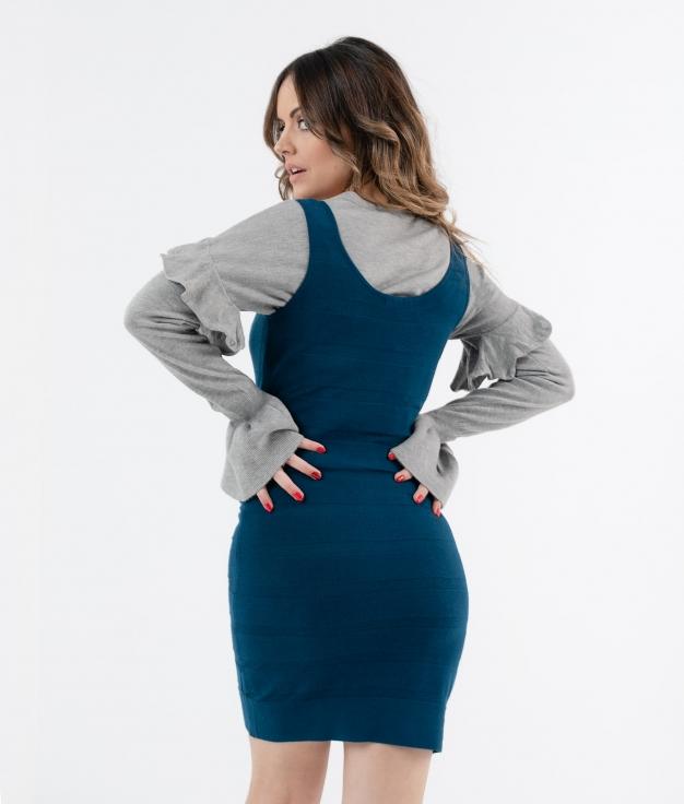 Robe Bahar - azul