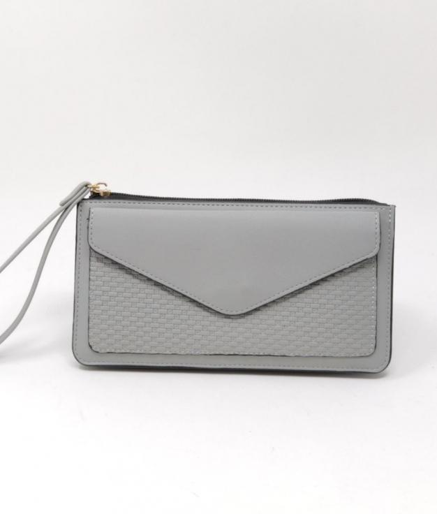 luna wallet - gray