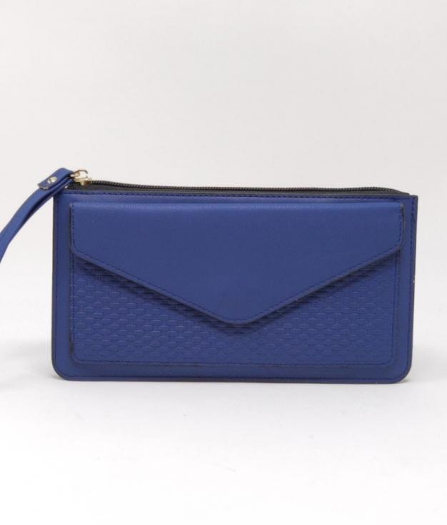 portefeuille luna - bleu marine