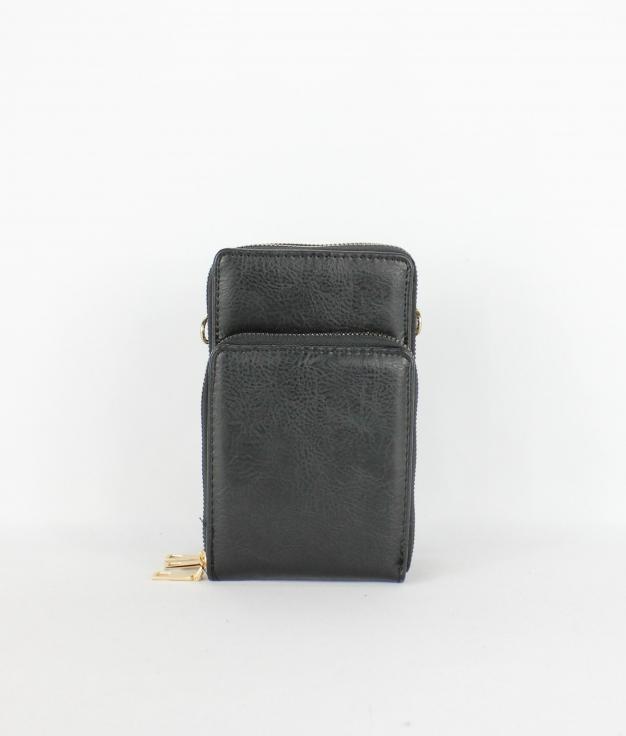 Wallet Mobile Holder Kala - Black