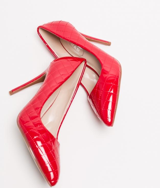 Zapato de Tacón KLITEN - ROJO
