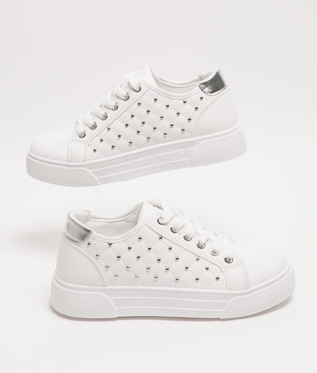 Sneakers TENDI - WHITE/SILVER