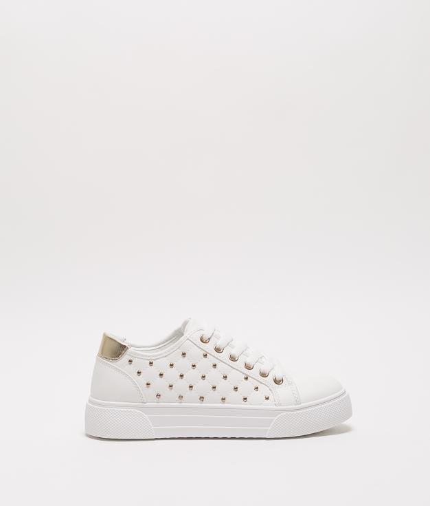 Sneakers TENDI - BLANC/ORO
