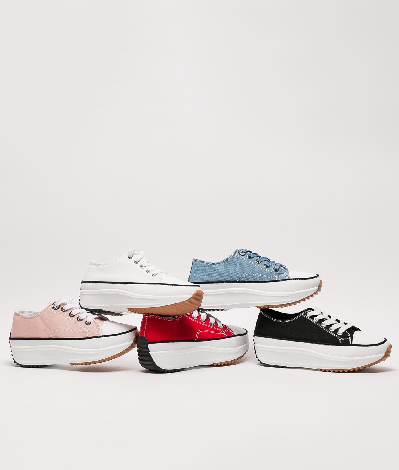 Sneakers Klun - Blanc