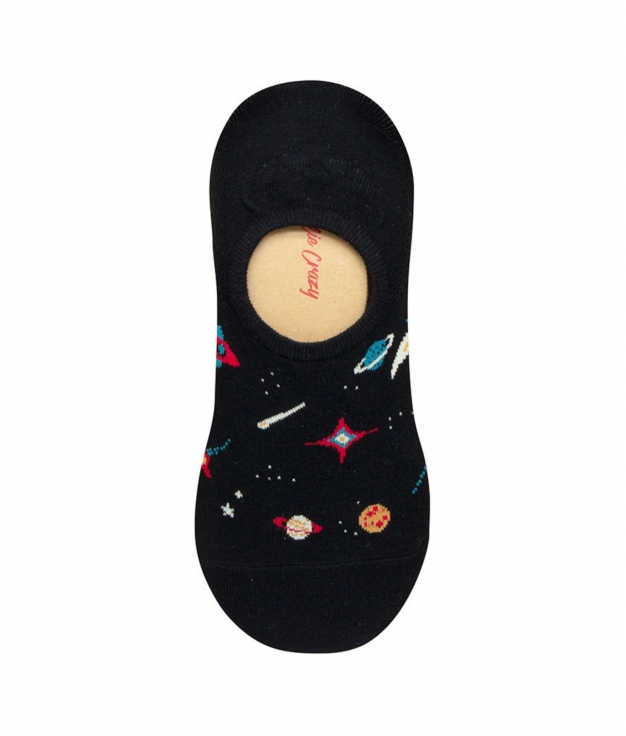 Calcetin Pinkie Kylie - Galaxy Negro