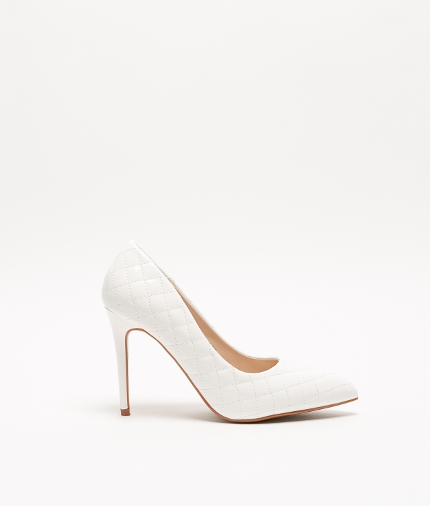 Zapato de Tacón KLITEN - BLANCO