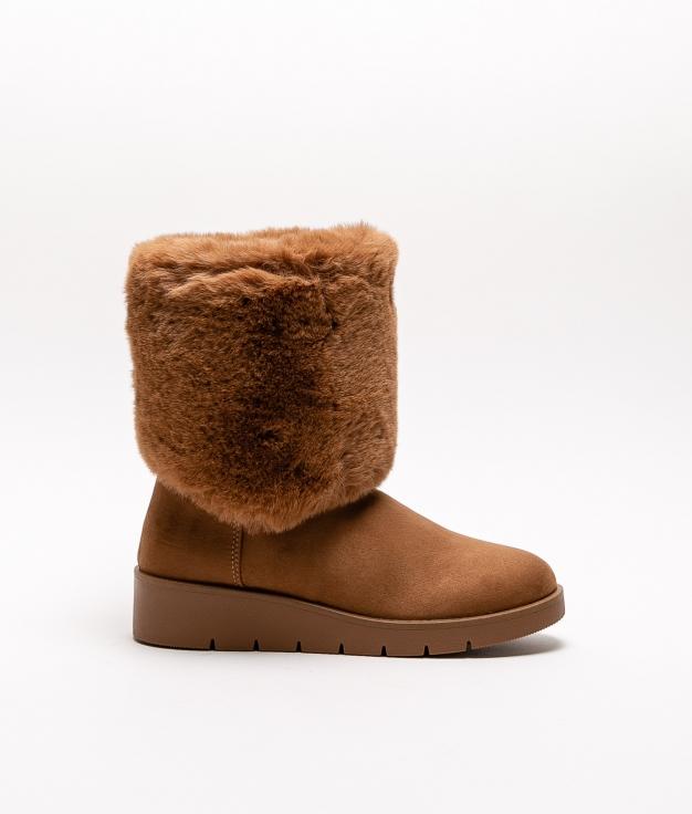 Low Boot Wendi - Camel