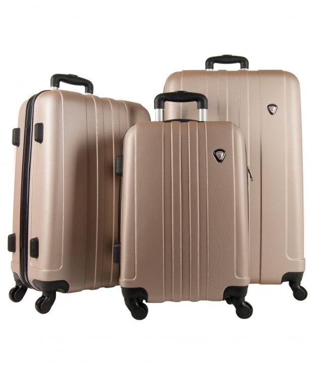 Suitcase Venecia 3 Pieces - Champagne