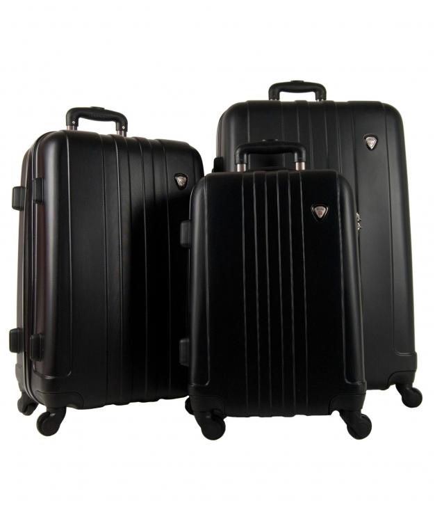 Suitcase Venecia 3 Pieces - Black