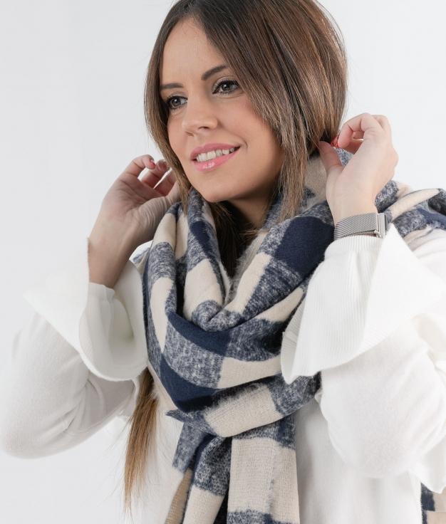 BUFANDA MUNIN - AZUL