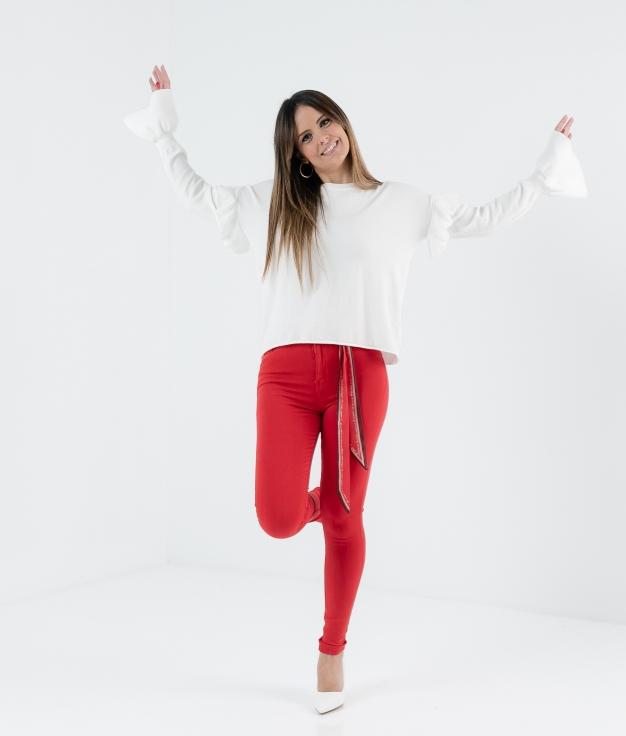 Pantalón Callut - Rojo