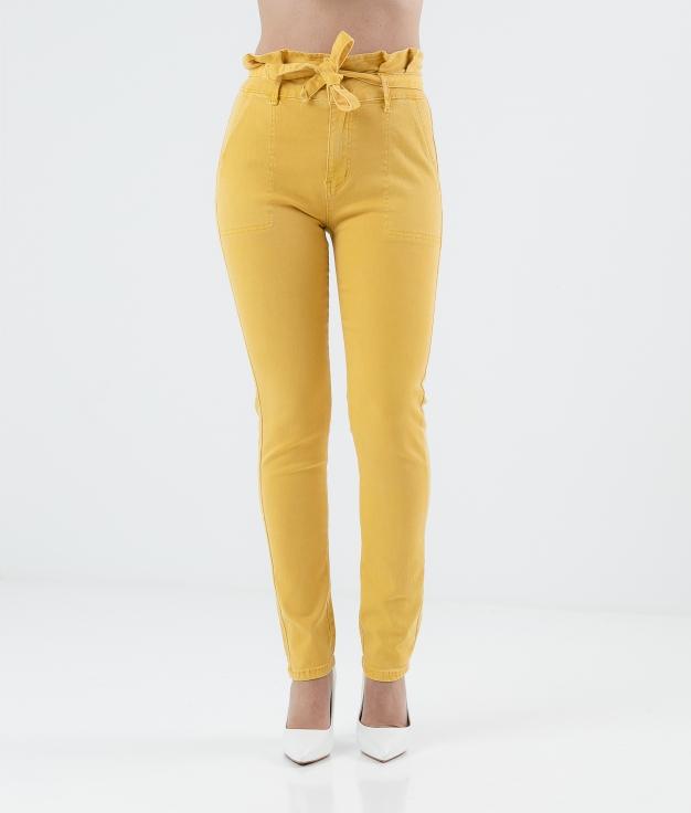 Pantalón Callut - Amarelo