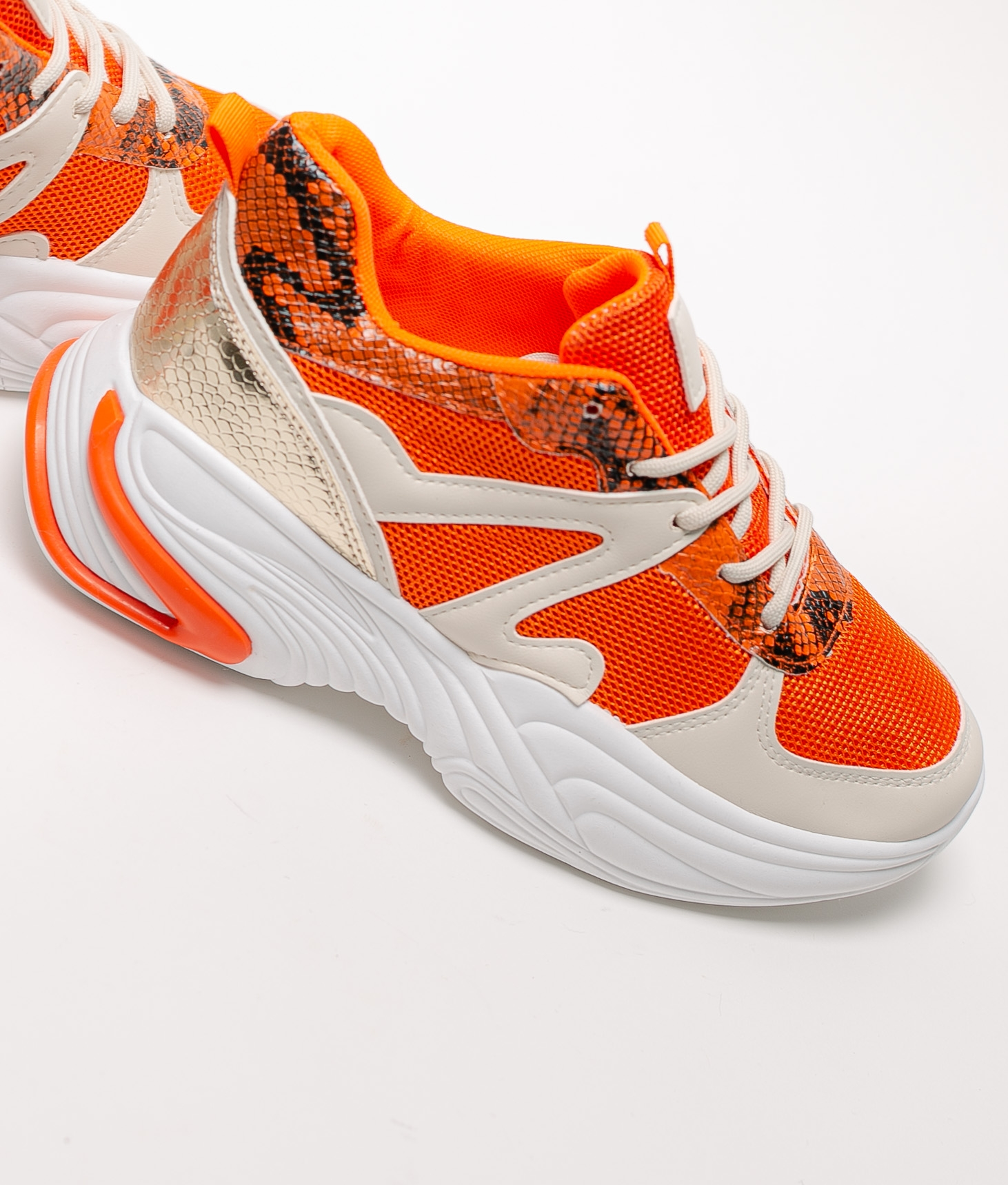 Sneakers Salte - Orange