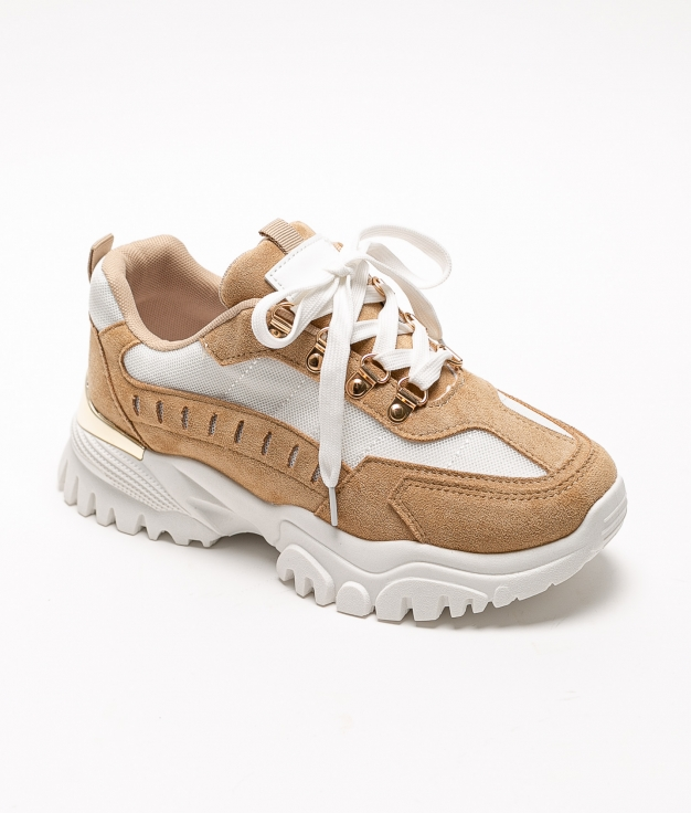 Sneakers CORFE - BROWN