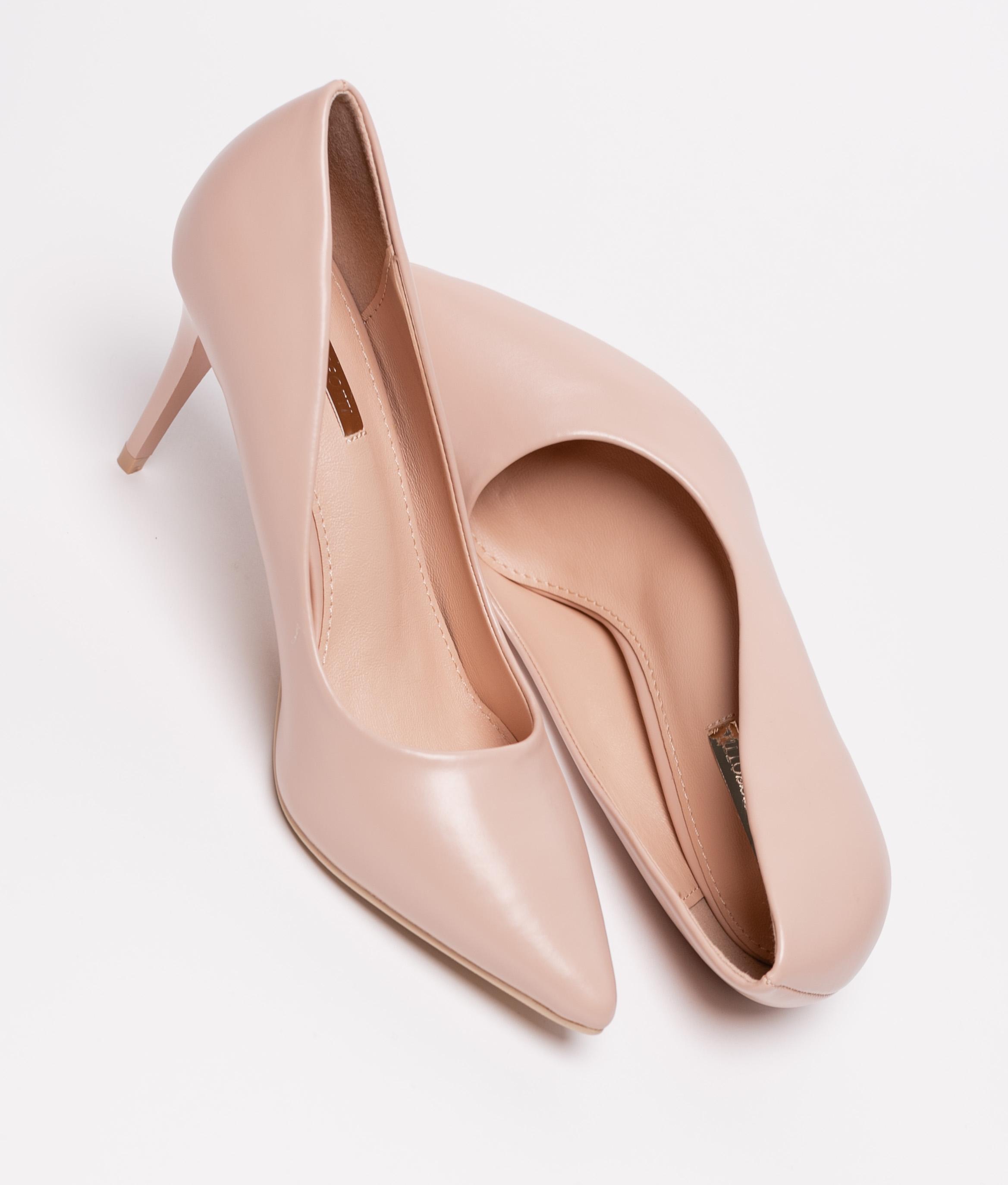 Sapato De Salto Kiut - Rosa