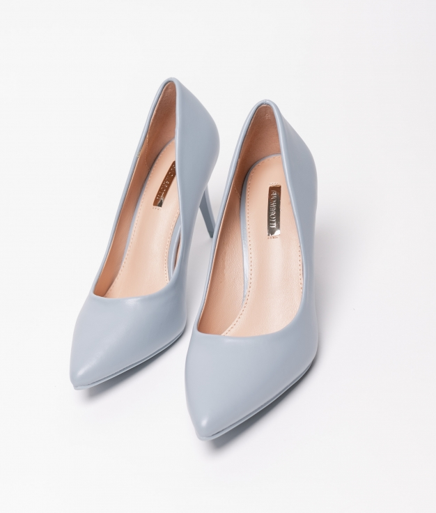 Sapato De Salto Kiut - Azul
