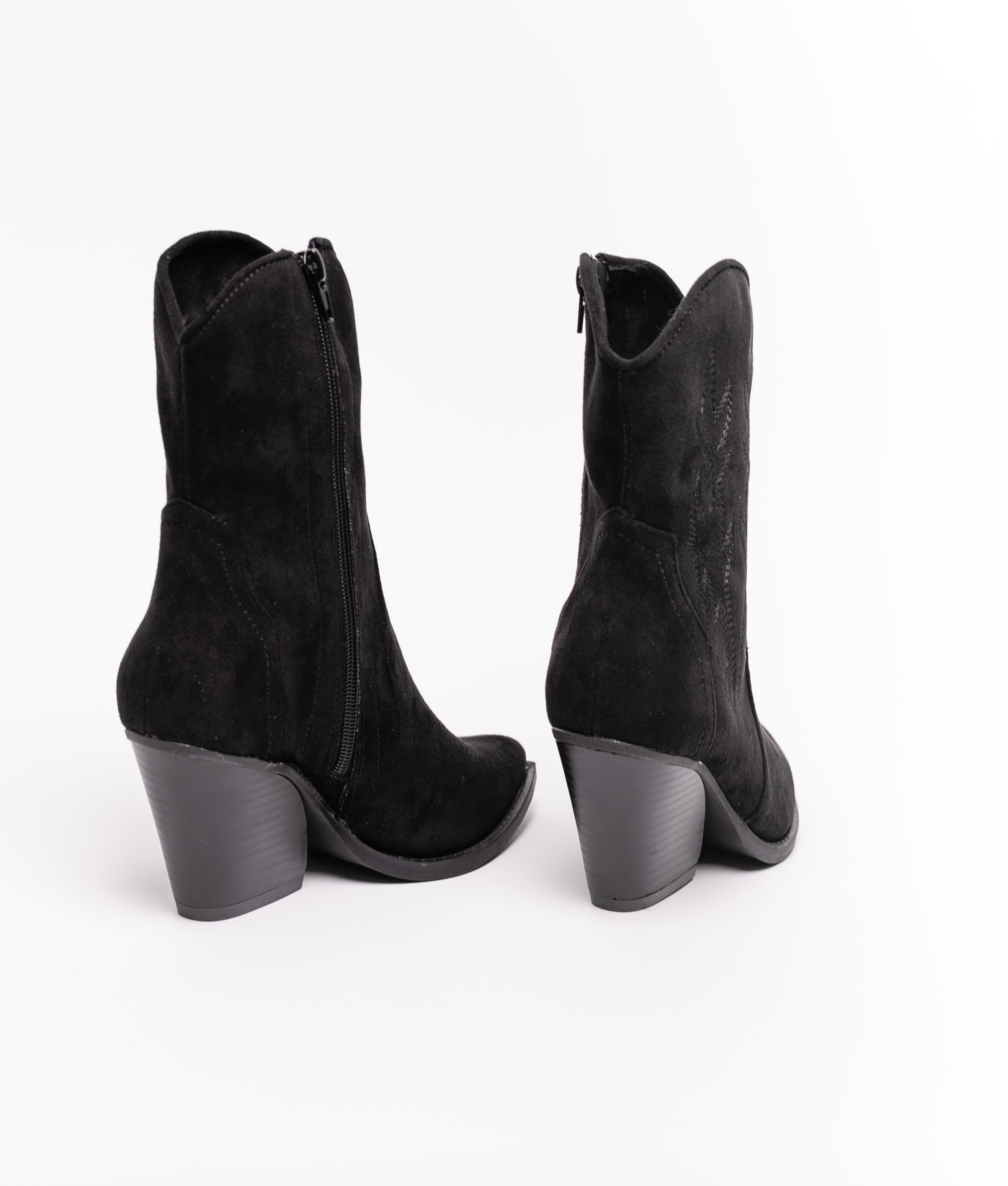 Knee-length Boot Roti - Black