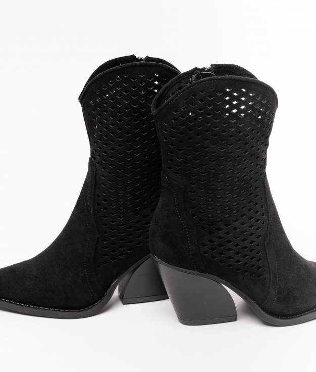 Low Boot BLADER - BLACK