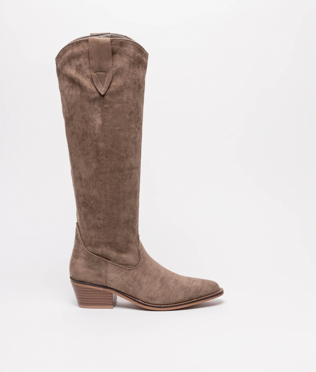 Knee-length Boot Crusti - Green