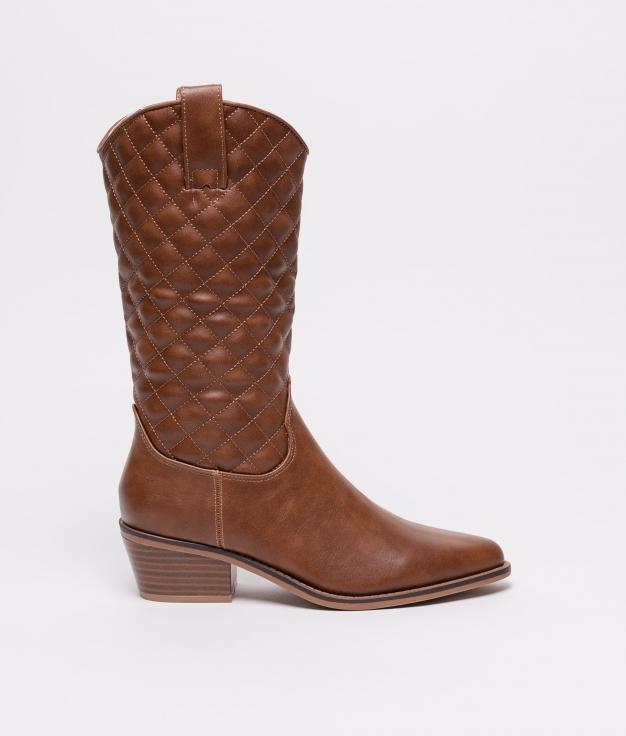 High Boot Mulin - Camel