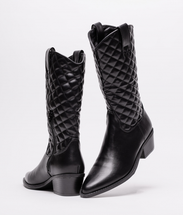 High Boot Mulin - Black